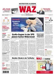 WAZ Westdeutsche Allgemeine Zeitung Oberhausen-Sterkrade - 07. Februar 2018