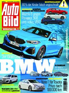 Auto Bild Germany – 08. August 2019