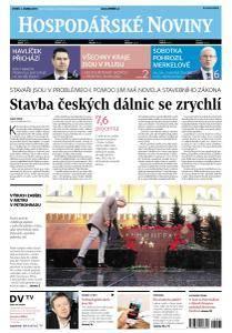 Hospodářské noviny - 4. dubna 2017