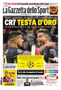 La Gazzetta dello Sport Roma – 11 aprile 2019