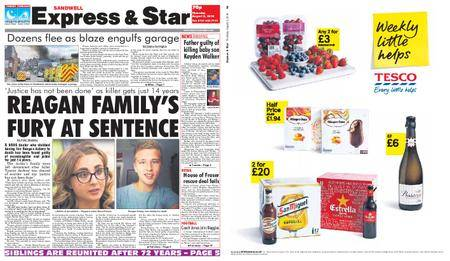 Express and Star Sandwell Edition – August 02, 2018