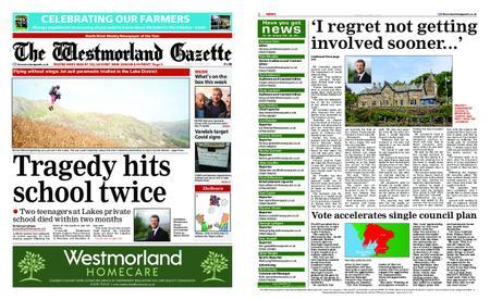 The Westmorland Gazette – October 01, 2020