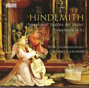 NDR Sinfonieorchester, Christoph Eschenbach - Paul Hindemith: Symphonie 'Mathis der Maler'; Symphonie in Es (2015)