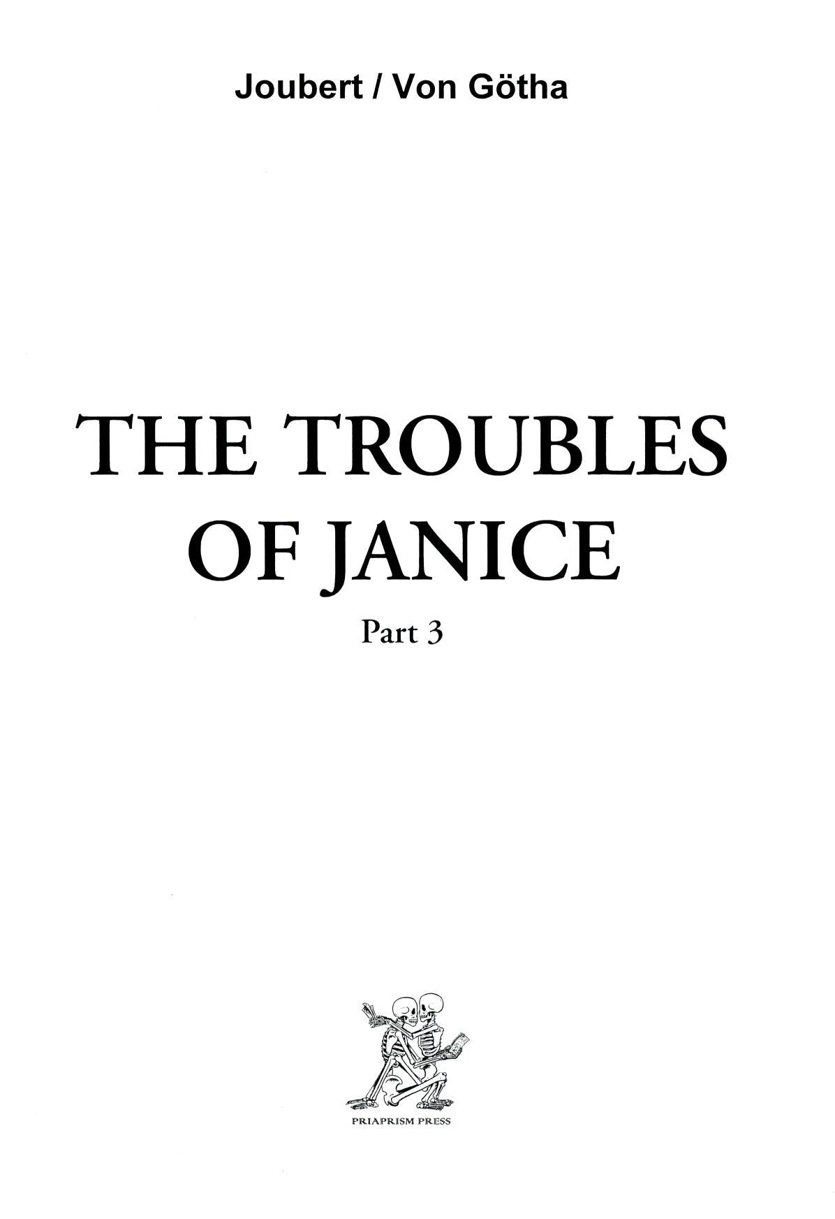 The Troubles Of Janice  Part 3 : Adults Only Erotic Comic
