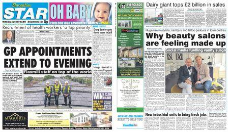 Shropshire Star Shrewsbury Edition – September 26, 2018