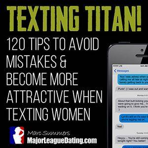 Texting Titan!: 120 Tips to Avoid Mistakes & Become More Attractive When Texting Women [Audiobook]