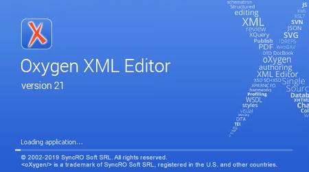 Oxygen XML Editor 21.0 Build 2019022207 Enterprise