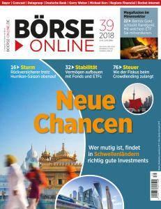 Börse Online - 27 September 2018