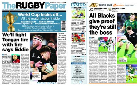 The Rugby Paper – September 22, 2019