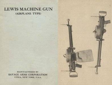 Lewis Machine Gun (Airplane Type) (Repost)