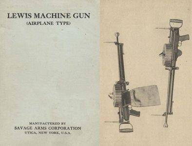 Lewis Machine Gun (Airplane Type) (Repost)