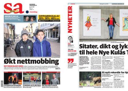 Sarpsborg Arbeiderblad – 25. mars 2019