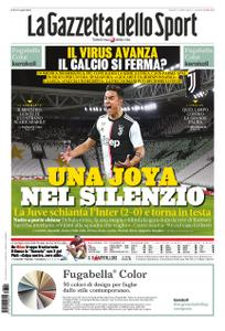 La Gazzetta dello Sport Roma – 09 marzo 2020