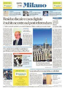 la Repubblica Milano - 24 Ottobre 2017