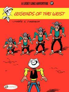 Lucky Luke 057 - Legends of the West 2016 Cinebook digital