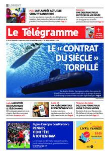 Le Télégramme Lorient – 17 septembre 2021