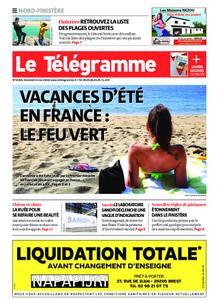 Le Télégramme Brest Abers Iroise – 15 mai 2020