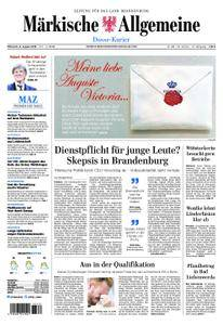 Märkische Allgemeine Dosse Kurier - 08. August 2018