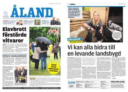 Ålandstidningen – 25 juni 2018