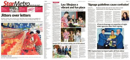 The Star Malaysia - Metro South & East – 21 January 2019