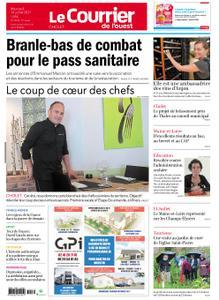Le Courrier de l'Ouest Cholet – 14 juillet 2021