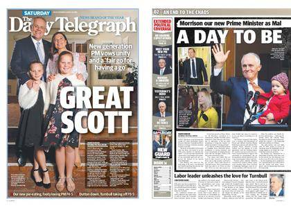 The Daily Telegraph (Sydney) – August 25, 2018