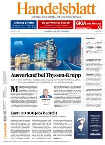 Handelsblatt - 26. September 2019