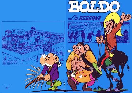 Boldo - Tome 1 - La Reserve