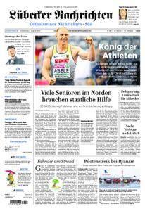 Lübecker Nachrichten Ostholstein Süd - 09. August 2018