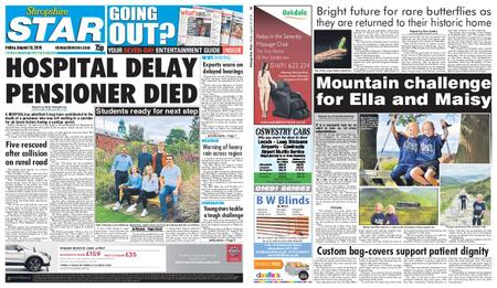 Shropshire Star Shrewsbury Edition – August 16, 2019