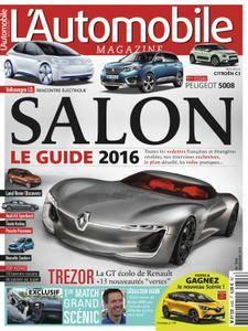 L'Automobile Magazine - novembre 2016