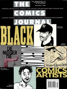 Comics Journal 160 1993-06 Black Comic Artists