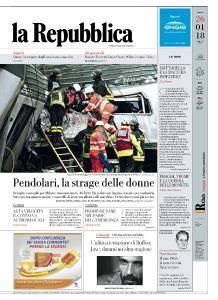la Repubblica - 26 Gennaio 2018