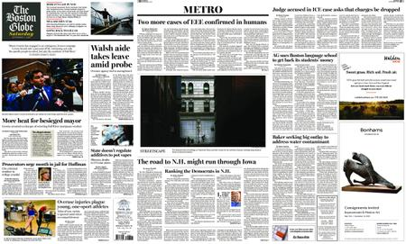 The Boston Globe – September 07, 2019