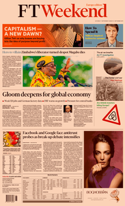 Financial Times Europe – 07 September 2019