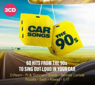 VA - Car Songs The 90s (3CD, 2019)