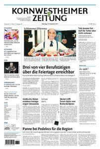 Kornwestheimer Zeitung - 19. Dezember 2017