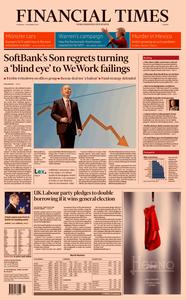 Financial Times Europe – 07 November 2019