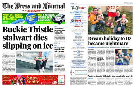 The Press and Journal Moray – December 19, 2017