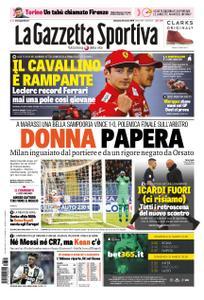La Gazzetta dello Sport Roma – 31 marzo 2019