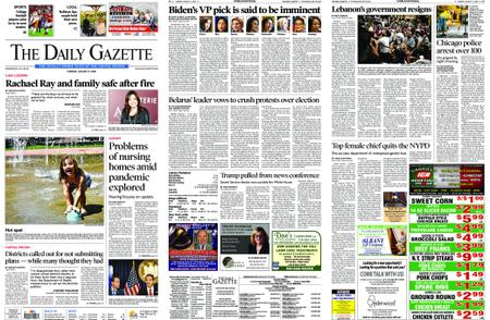 The Daily Gazette – August 11, 2020