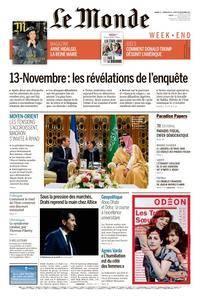 Le Monde du Samedi 11 Novembre 2017
