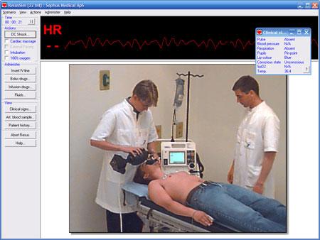 Resus Sim 98 Advanced Life Support PC Trainer