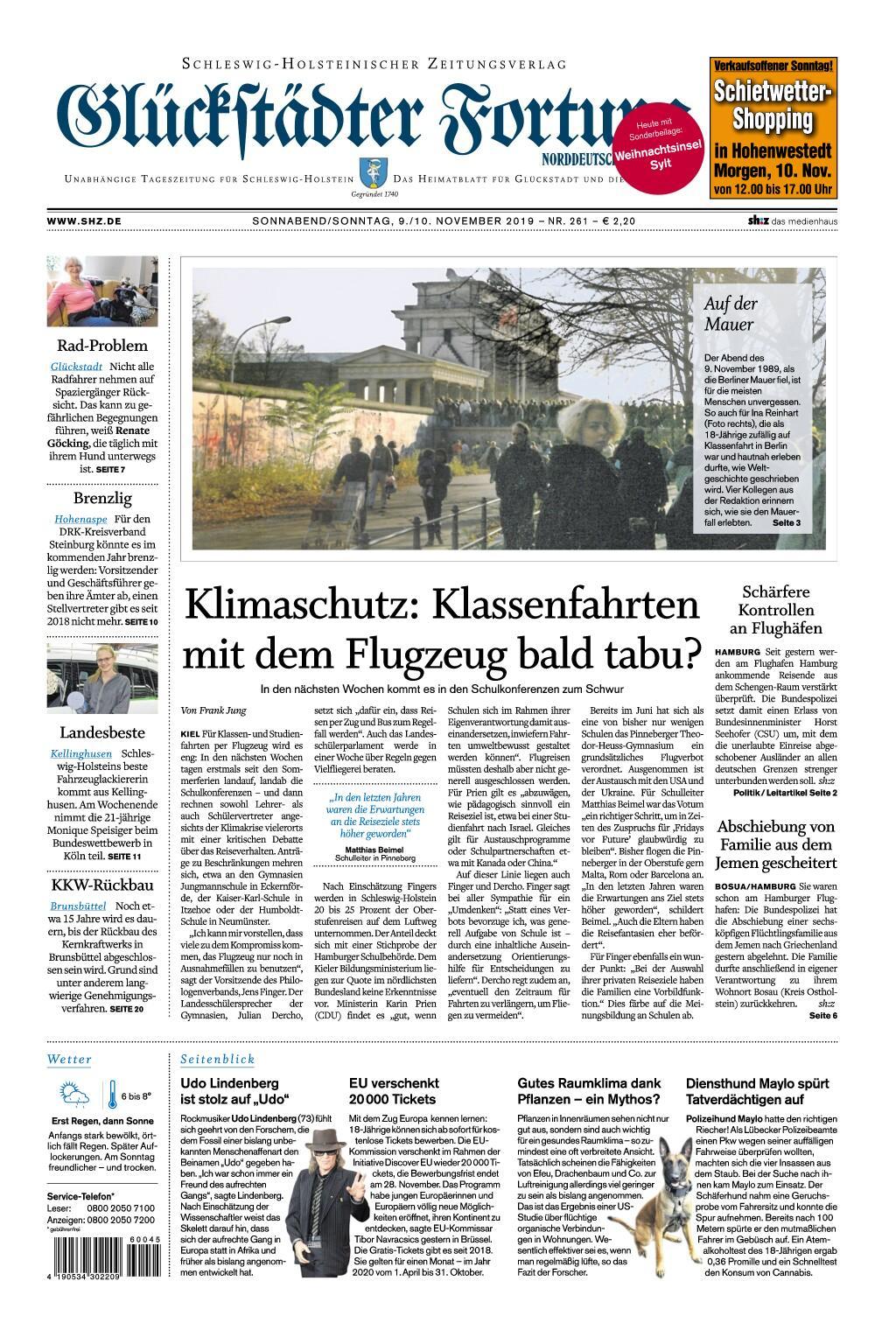 Glückstädter Fortuna - 09. November 2019