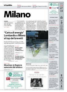 la Repubblica Milano - 22 Luglio 2018