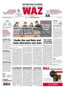 WAZ Westdeutsche Allgemeine Zeitung Oberhausen-Sterkrade - 20. November 2018