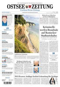 Ostsee Zeitung Wolgast - 13. September 2017