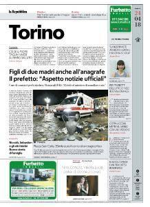 la Repubblica Torino - 24 Aprile 2018