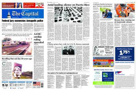 The Capital – June 07, 2018