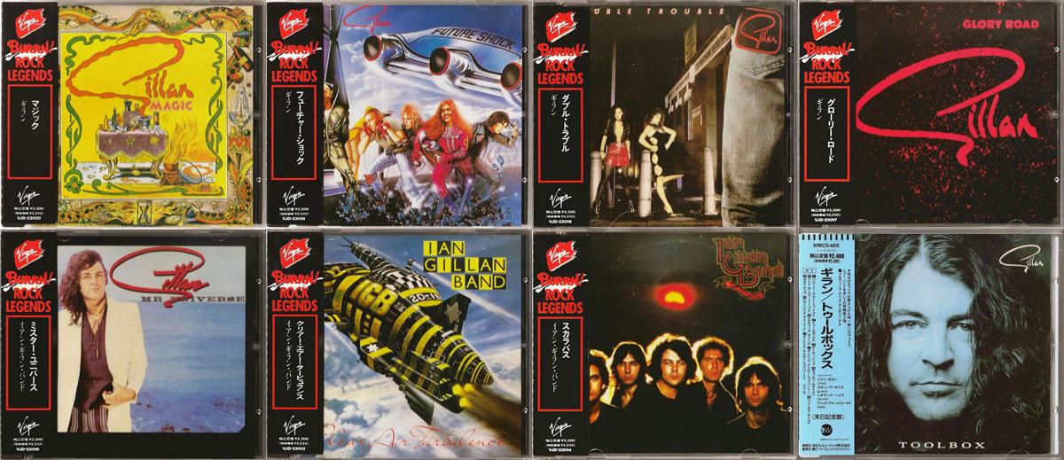 Ian Gillan Band and Gillan - Original Studio Albums (1977 - 1991